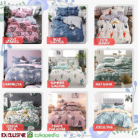 Bed Cover Bedcover Bad Cover Sprei Set 120x200 160x200 180x200 200x200