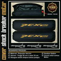 Cover Sarung Pelindung Shock Breaker PCX 160 Gold
