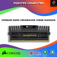 Corsair Vengeance 8GB DDR3 Memory Kit (CMZ8GX3M1A1600C9) RAM PC
