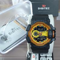 Jam Tangan Pria Fashion Analog Digitec DG-2080 AJ 13706 Dual Time- COD - 1