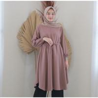 Baju Tunik Wanita WKBHETA Atasan remaja muslim model Murah terbaru