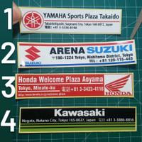 sticker JDM motor dealer jepang yamaha suzuki honda kawasaki