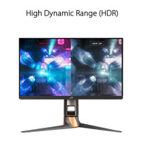 ASUS ROG Swift PG259QN Gaming Monitor 24.5 Full HD, IPS, 360Hz