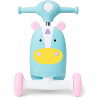 Skip Hop Kids 3-in-1 Baby Activity Push Walker & Ride On Scooter Toy