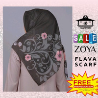 Kerudung Hijab Jilbab Segi Empat Motif Zoya Flava Scarf Segiempat 4