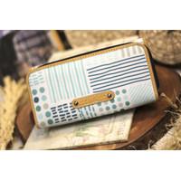Dompet Wanita wallet sewstories LOLLITA dot and stripes