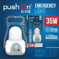 LAMPU EMERGENCY LENTERA PUSHON 35 WATT EL-3135