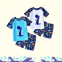 Dino Friends Swimwear Set / Baju Renang Bayi