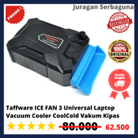 Taffware ICE FAN 3 Universal Laptop Vacuum Cooler CoolCold Vakum Kipas