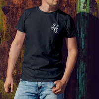 Baju Kaos gambar karrtu As Cowok Laki Premium Kekinian keren - Hitam, L