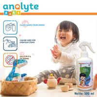 Anolyte Baby 500ml, Sanitizer Baby, Hand Sanitizer Anak Food Grade