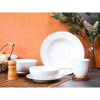 Piring Keramik Pure White by Carramica