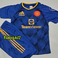 Bisa COD/Stelan baju bola anak-anak M-U/ termurah/Jersey terbaru