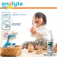 Anolyte Baby 100ml, Sanitizer Baby, Hand Sanitizer Anak Food Grade