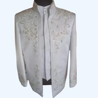 baju pengantin muslim modern pria akad/ beskap pria