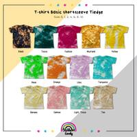 BLOSSOMCANDY - T-shirt Basic Shortsleeve - TIEDYE - Kaos Bayi & Anak - Black, 0