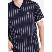 Men's Shirt FILA DRAMMATICA III Size XL White / Black - Hitam