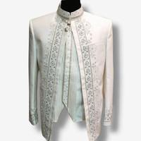 beskap asraf/ baju pengantin pria muslim/ baju akad