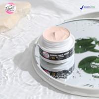 Bb cream glowing SPF 50 foundation coverage cushion anti uv ori bpom