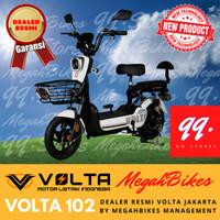 VOLTA Sepeda Listrik - Tipe 102 - Merah/Biru/Putih/Hitam/Pink