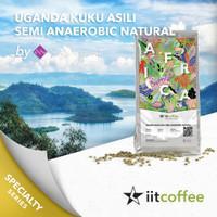 Arabica Green Beans - Uganda Kuku Asili Semi Anaerobic Natural - 1Kg
