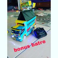 rc mobil remote control Miniatur truk oleng mini