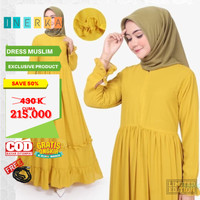 Promo Dress Baju Muslim Wanita Gamis Busui Original