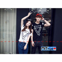 Kaos Couple / Baju Couple / Baju Couple Lengan Pendek Murah 012