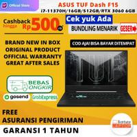 ASUS TUF Dash F15 i7-11370H RTX 3060 6GB RAM 16GB 512GB SSD 144Hz