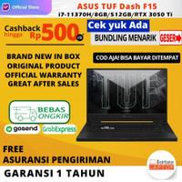 ASUS TUF Dash F15 i7-11370H RTX 3050 Ti 4GB RAM 8GB 512GB SSD 144Hz
