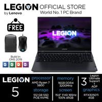 Lenovo Legion 5 Ryzen 7 5800 16GB 512ssd RTX3050Ti 4GB W10+OHS 3QID