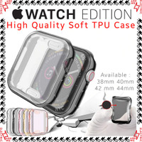 Case Apple Watch Series 1 - 6 Series SE 40mm 44mm Casing Silikon Cover
