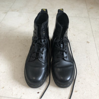 Sepatu Boots Pria Docmart / Dr. Marteen Warna Hitam Ukuran 41