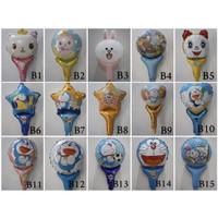 Balon Foil Tongkat Karakter Murah Pentungan Balon Foil Ulang Tahun
