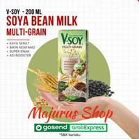 Vsoy susu kedelai Multi Grain V-soy soya 200ml