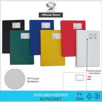 Document Keeper / Clear Holder 60 Pocket FC E 323