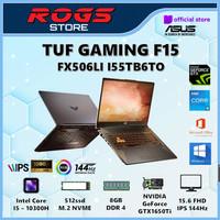 Asus TUF FX506LH I765B8T-O i7 10870H 8GB 512ssd GTX1650 4GB W10+OHS 15