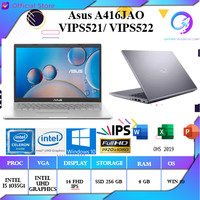 Asus vivobook A416JAO VIPS522 i5 1035G1 4GB 256ssd W10+OHS 14FHD IPS