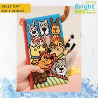 BABY SOFT BOOKS - BUKU SENSORI - JELLYCAT - PUPPY TAILS TOUCH & FEEL