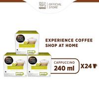 Cappuccino 3 box (48 kapsul = 24 gelas)