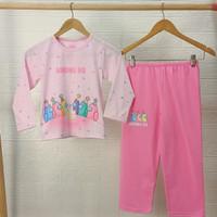 AMONG US Pink setelan piyama baju tidur anak perempuan PANJANG uk 8-18 - 8