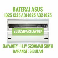 BATERAI ASUS Eee PC 1025 1025C 1225 1225C 1225B A32-1025 HIGH WHITE