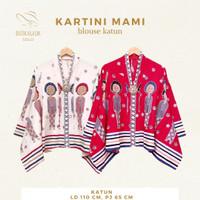 Kartini Mami Blouse Motif Simbok Jamu Batik Solo
