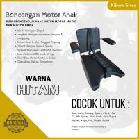 Kursi Bangku Boncengan Bonceng Anak Motor Matic Bebek Warna Hitam + T