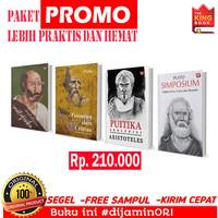 Paket 4 Buku Aristoteles dan Plato Simposium Puitika Metafisika Timaeu