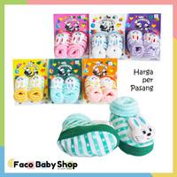 Z06 Sepatu Bayi Perempuan Laki Model Boneka Lucu Warna Motif Keren