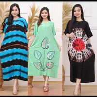 Grosir Daster Batik Jumbo Busui Baju Tidur 5