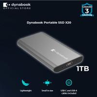 Dynabook Boost Portable X20 SSD 1 TB - FREE FLASHDISK 32GB