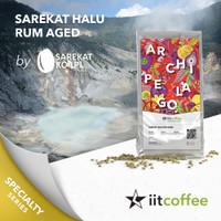 Arabica Green Beans - Halu Rum Aged by Sarekat Kopi - 1Kg