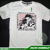 Kaos T-Shirt Anime Kimetsu no Yaiba White